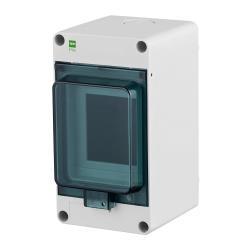 Sicherungskasten IP65 Hermetisch geschlossener Aufputz Verteilerkasten 3 Module