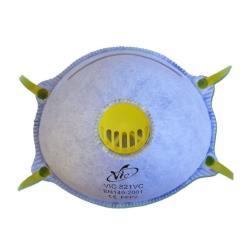 3x Feinstaubmaske Aktivkohle FFP2 Staubmaske Atemschutz Atemschutzmaske