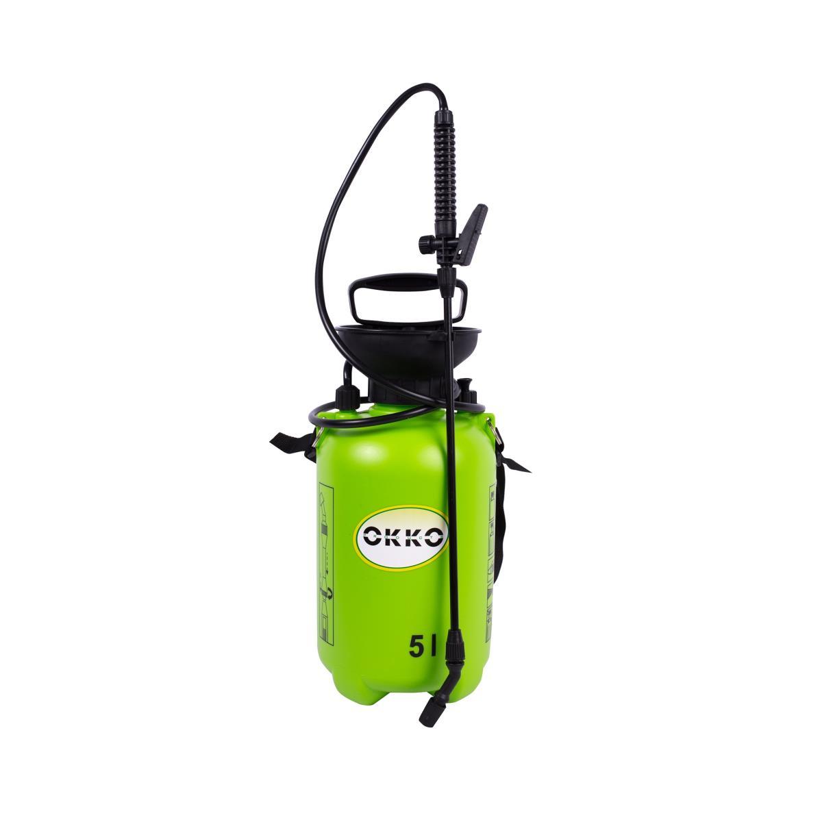 Handsprüher 5L Sprühflasche Drucksprüher mit Tragegurt Sprayer Grün,OKKO,4772013033141, 4772013033141