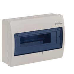 Sicherungskasten Verteilerkasten 12 Module Aufputzverteiler creme ELEGANT,Elektro-Plast,2403-03, 5902431692111