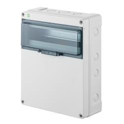 Sicherungskasten IP65 Hermetisch geschlossener Aufputz Verteilerkasten 13 Module,Elektro-Plast,2206-01, 5902431694399