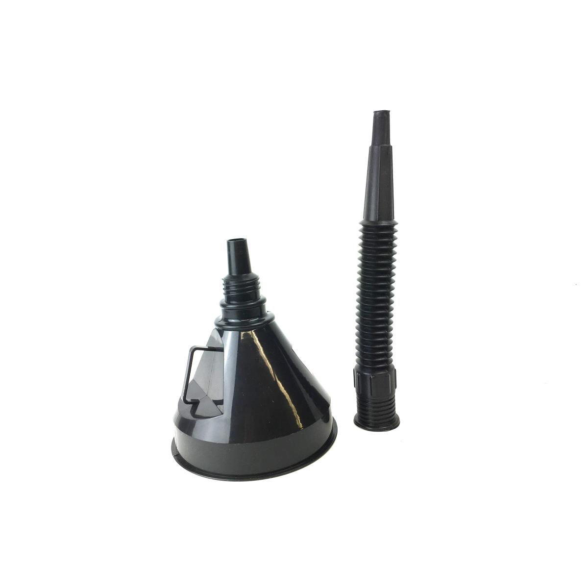 Trichter Einfülltrichter Ø 14 cm mit flexiblem Schlauch + Sieb Öltrichter ,UAB,000051065762, 2000510657624