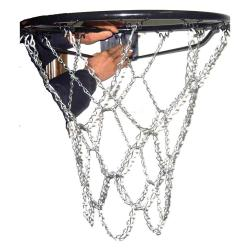 Metall Basketballnetz Metallbasketballnetz verzinkt Metallnetz Kettennetz