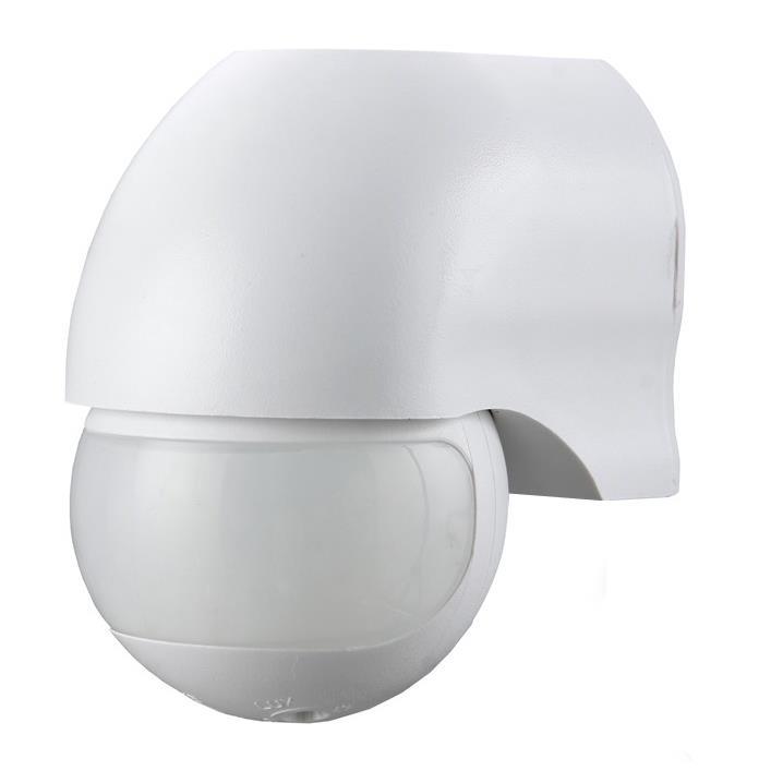 Bewegungsmelder Aufputz 180° für Innen und Außen LED IP44 weiss bis zu 12m ST12,Vagner SDH,ST12-W, 4770364202476