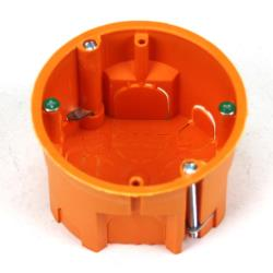 Hohlwanddose Schalterdose Abzweigdose Hohlraumdose Ø 60 x 45 mm, für 68mm Loch,Pawbol,A.0046P, 5901350833155