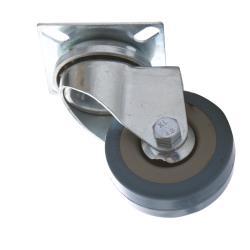 4x Lenkrollen 50mm mit Gummi Rad, Transportrollen, Möbelrollen, Laufrollen,Vagner SDH,2000506152249, 0791266466401