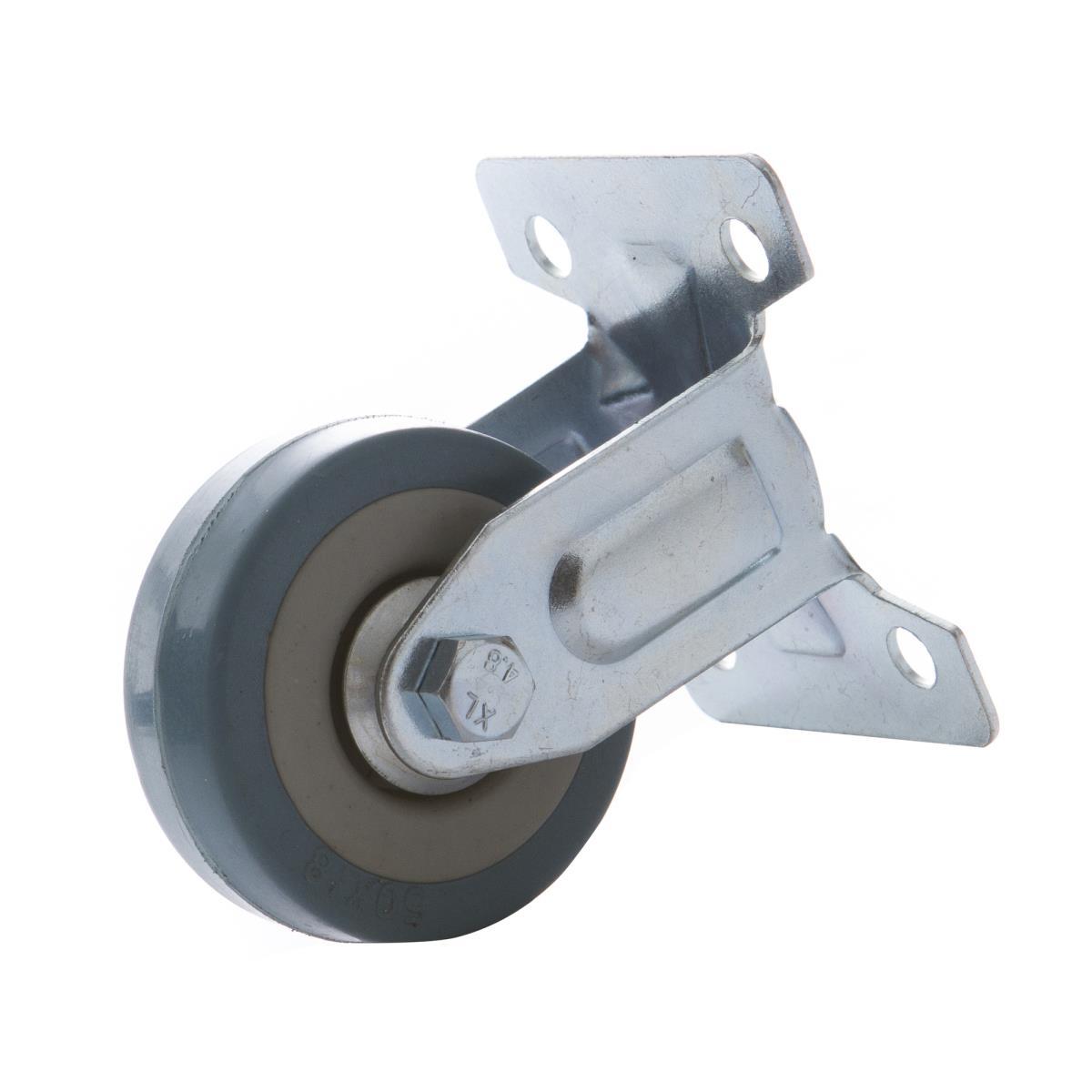 4x Bockrollen 50mm mit Gummi Rad, Transportrollen, Möbelrollen Laufrollen,Vagner SDH,2000506152218, 0791266466425