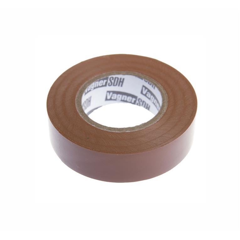 Elektriker Klebeband Isolierband Isoband - Braun 19mm x 20m,Vagner SDH,IZOBROWN20, 4772013050636