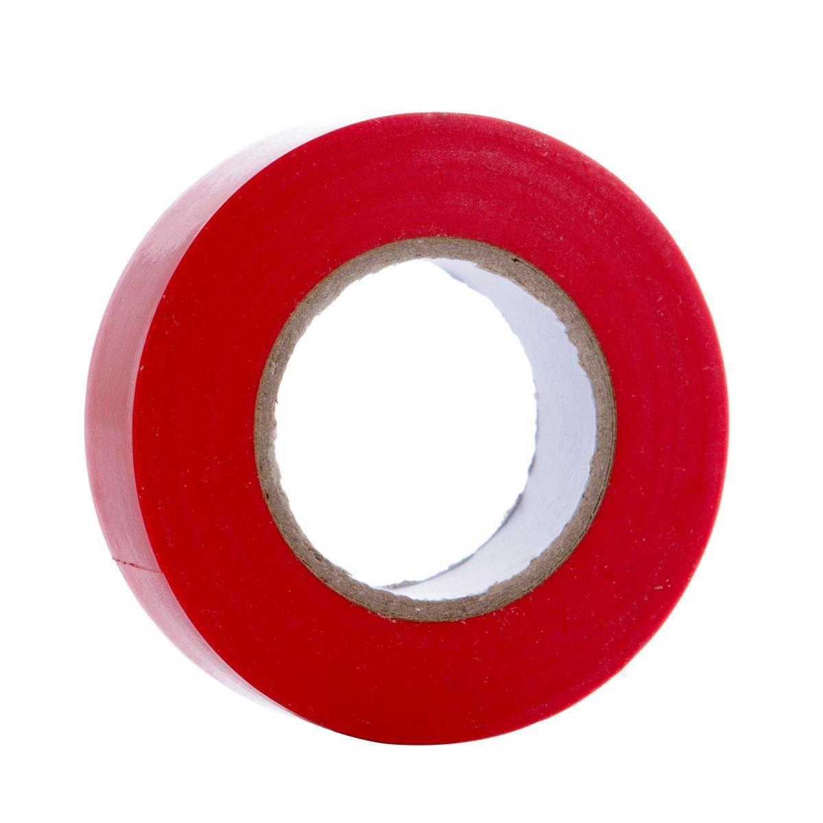 Elektriker Klebeband Isolierband Isoband - Rot 19mm x 20m,OKKO,IZORED20, 4772013050629