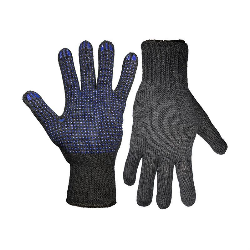 Gartenhandschuhe Arbeitshandschuhe Handschuhe mit Noppen Schwarz,Gardening,GB66, 6949105501095
