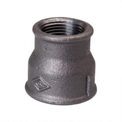 "Temperguss Reduziermuffe IG 1"" x IG 1/2"" Fitting Gewindefittings Fittings"