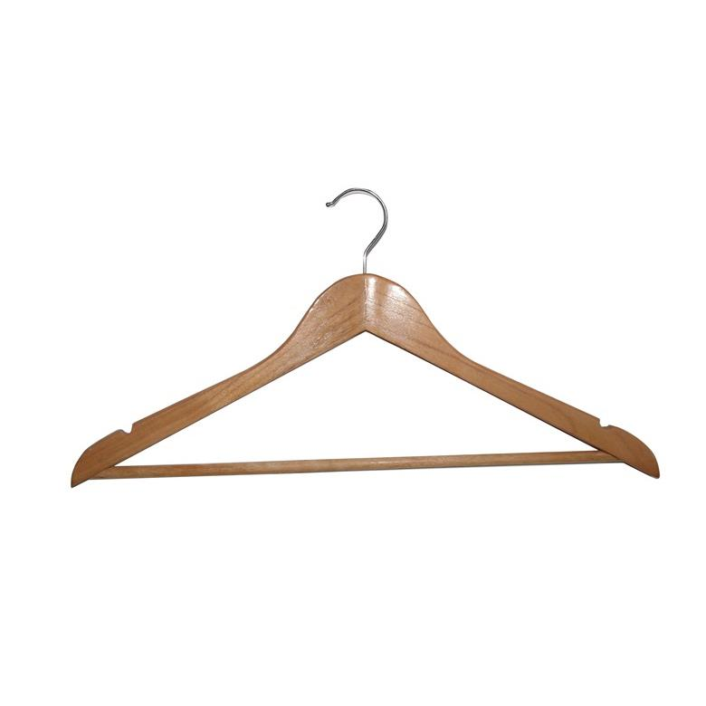 10 x Kleiderbügel Holzbügel Rockkerbe Hosenstange Garderobenbügel Hemdenbügel ,unknown,000051072953, 0758198324278