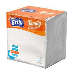 75 Servietten Lunch Papierservietten Zellstoff Tischdekoratio24x24 cm weiß,grite,000051186563, 4770023485158