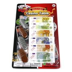 Spielgeld Euro Casinogeld Geld Münzen Geldscheine Kaufladengeld Cash Money Kohle