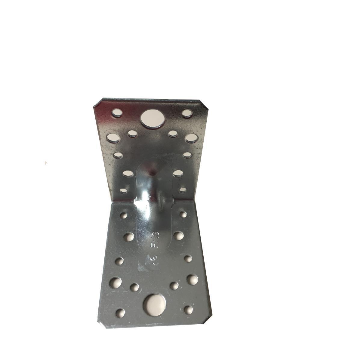 10 x Schwerlast Winkelverbinder mit Sicke verzinkt 90x90x65 Lochplattenwinkel ,Vagner SDH,000051193853, 0758198326272