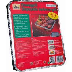 Einweggrill Campinggrill Einweg Grill BBQ Grillen Picknick Wandern Bräter,K M,0000365, 4004753903652