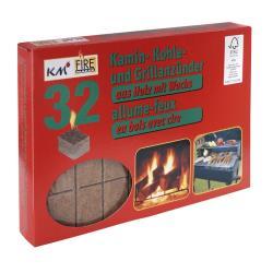 Kaminanzünder Kohleanzünder Grillanzünder  Ofenanzünder Holzanzünder Kaminholz ,K M,0000266, 4004753902662