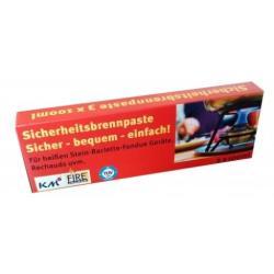 Sicherheitsbrennpaste Brennpaste Ethylalkohol 3x80g Brenngel Fondue Raclette