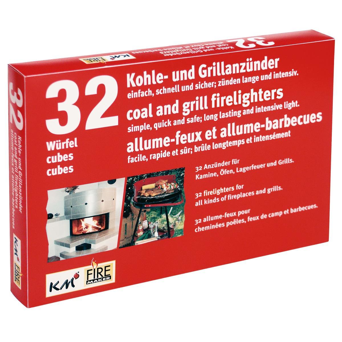 Anzündwürfel Ofenanzünder Kaminanzünder Kohleanzünder Holzanzünder Kaminholz ,K M,0000200, 4004753902006