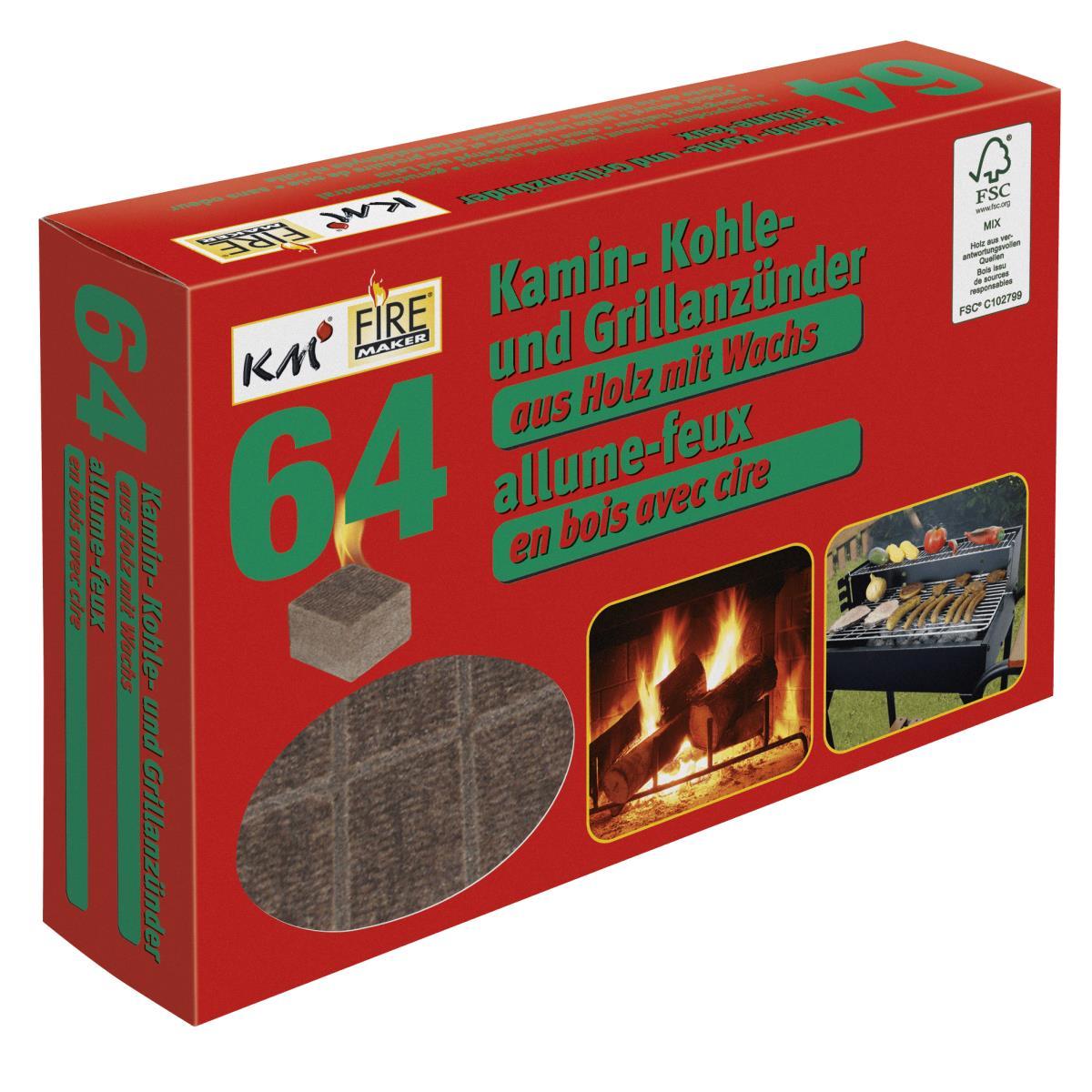 Kaminholzanzünder Kaminanzünder Kohleanzünder Grillanzünder  Ofenanzünder Holz,K M,0000272, 4004753902723