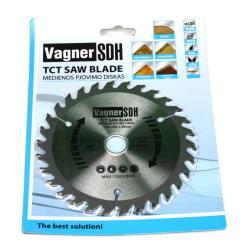 Sägeblatt 130mm Kreissägeblatt für Holz, 30 Zähne, Innen 20-16mm,Vagner SDH,51005028, 6941125230139