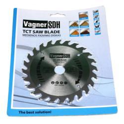 Sägeblatt 140mm Kreissägeblatt für Holz, 24 Zähne, Innen 20mm,Vagner SDH,51005030, 6941125230160