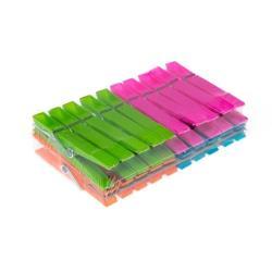 100 Stück Wäscheklammern Kunststoffklammern Klammern Klammer Wäschehalter