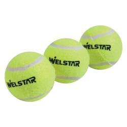 1 Dose mit 3 Bällen Welstar Tennisbälle Tennisball