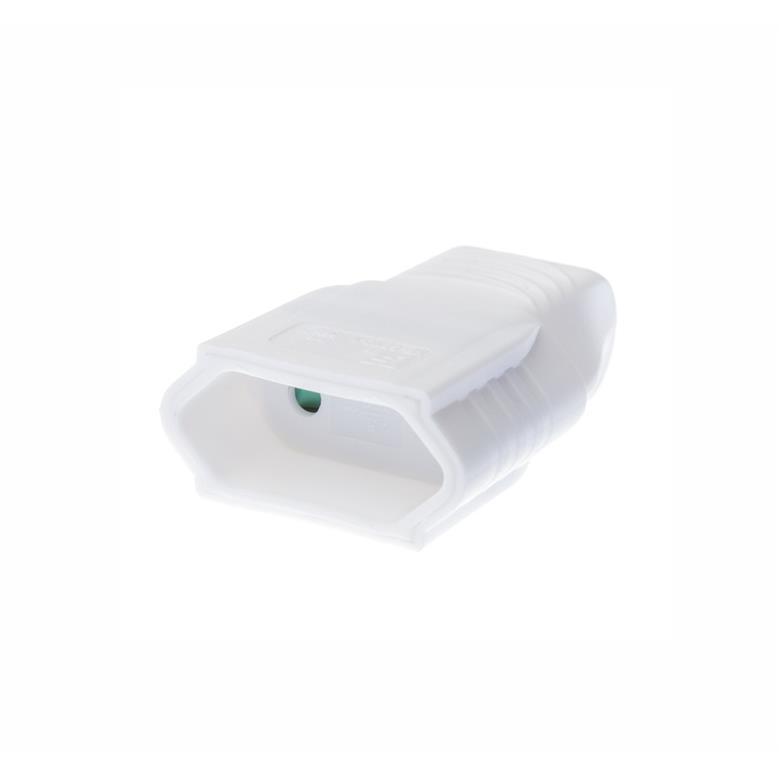 Eurokupplung für Eurostecker farbe weiß,OKKO,KF-GBYC-1, 4772013040811