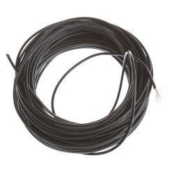 25m Litze 0,5mm² Kabel Einzelader Verdrahtung flexibel H05V-K Schwarz