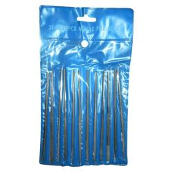 Nadelfeilen 12 Teilige Set für Metal und Kunststoff 140mm,NoName,4772013102922, 4772013102922