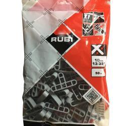 Rubi  T Fliesenkreuze 10mm Fuge Fliesenabstandshalter Fugenkreuze Abstandshalter