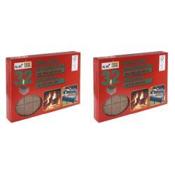 2 x Kaminanzünder Kohleanzünder Grillanzünder  Ofenanzünder Holzanzünder