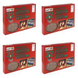 4 x Kaminanzünder Kohleanzünder Grillanzünder  Ofenanzünder Holzanzünder