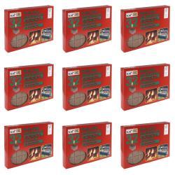 9 x Kaminanzünder Kohleanzünder Grillanzünder  Ofenanzünder Holzanzünder