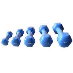 2x 0,5kg Vinyl Hantelset Vinylhanteln Kurzhanteln Gewichte Fitness Aerobic