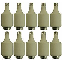 10 x Schmelzsicherung Sicherungeinsätze DII gG 25 A Niederspannungssicherung