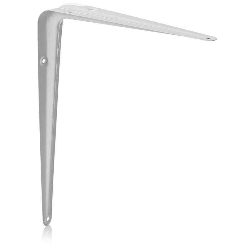 10x Regalwinkel 125x150mm Regalhalter Regalträger Konsole Regalbodenträger Weiß