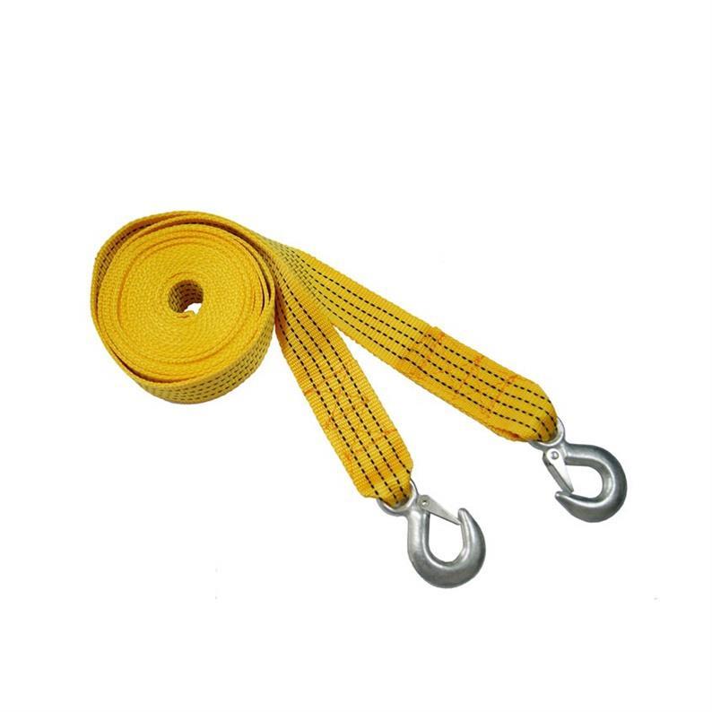 robustes Abschleppseil 4000 kg Zugseil 2 Stahlhaken Schleppseil 4 Meter Seil