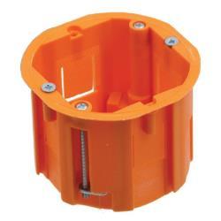 Hohlwanddose Schalterdose Abzweigdose Hohlraumdose Ø 60x60mm erweiterbar A.0040P,Pawbol,A.0040P, 5908289626056
