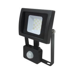 LED Außen Scheinwerfer mit Bewegungsmelder 10W 4000K Flutlicht Fluter Strahler,Vagner SDH,4772013014959, 4772013014959
