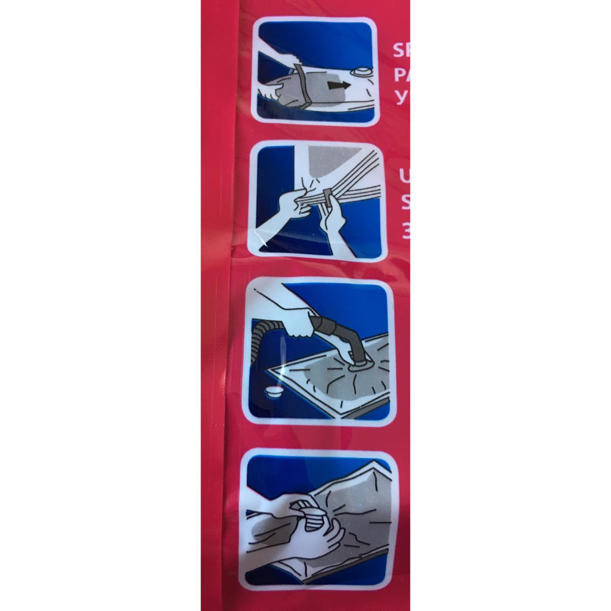 Vakuumbeutel Kleiderbeutel Vakuumtasche Vakuumtüte Aufbewahrung 100x80x32 cm,york,000051226081, 5903355058779
