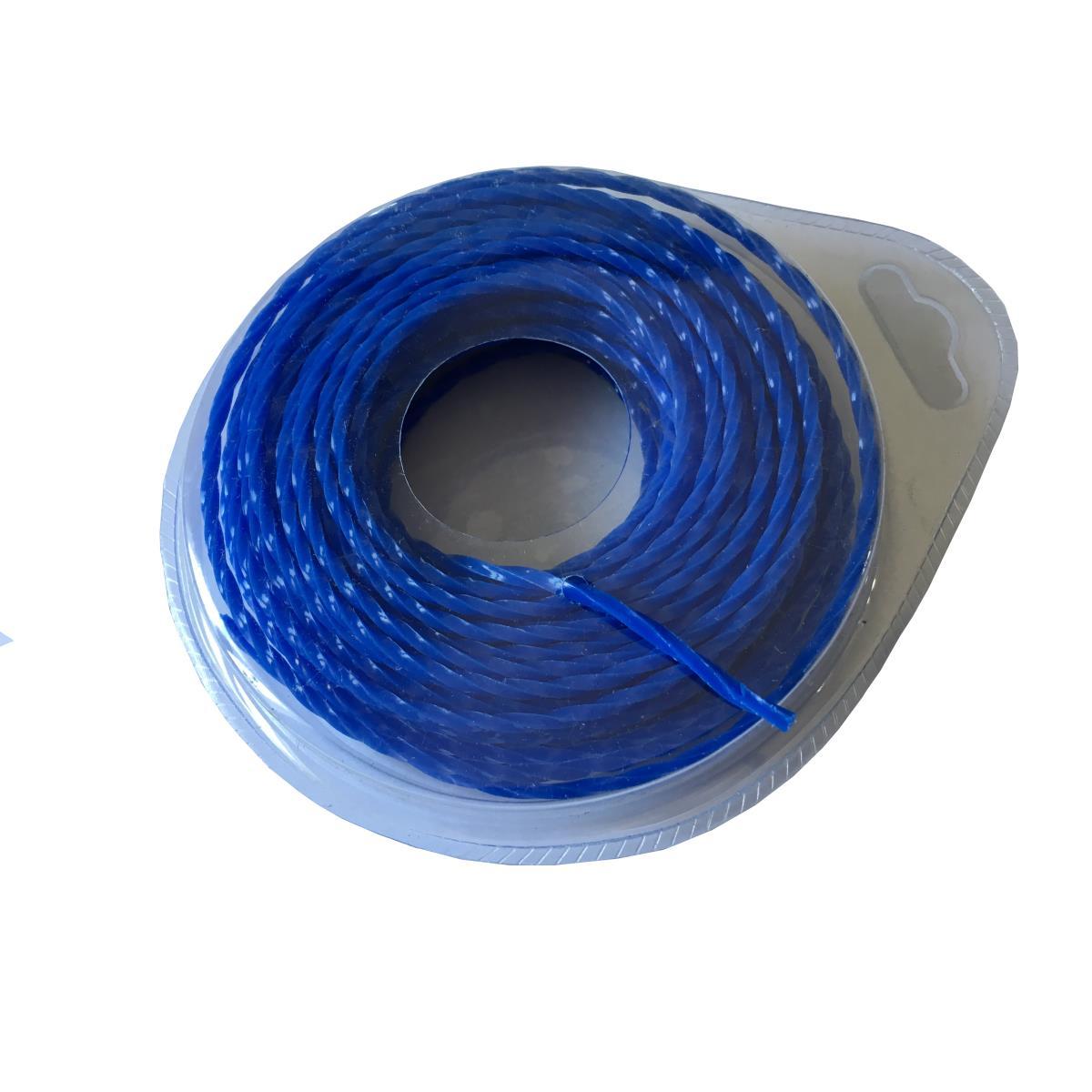 Trimmerschnur 15 m Ø 1,6 mm blauTrimmerfaden Mähfaden Trimmerfaden Rasentrimmer,Cutting,000051158017, 4770364093524