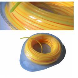 Trimmerschnur 15m Ø 2,0mm orange Trimmerfaden Mähfaden Trimmerfaden Rasentrimmer,V-Force,000051158032, 4770364093449