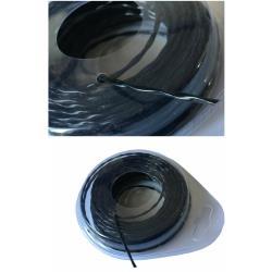 Trimmerschnur 15m Ø2,0mm schwarz Trimmerfaden Mähfaden Trimmerfaden Rasentrimmer