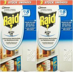 2 x 3 Raid Lebensmittelfalle Mottenfalle