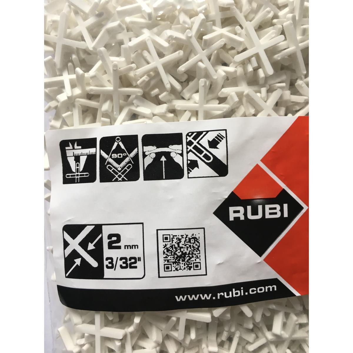 1000 Fliesenkreuze Fugenkreuze 2 mm weiß Distanzstücke Keile Kunststoff