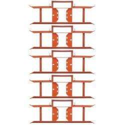 5 x Kabelwickler Kabelaufwickler Kabelmanager Strick Wickler Kabelaufroller ,Okko,000051313390, 4243067015518