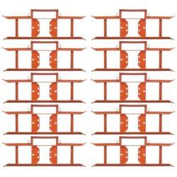 10 x Kabelwickler Kabelaufwickler Kabelmanager Strick Wickler Kabelaufroller