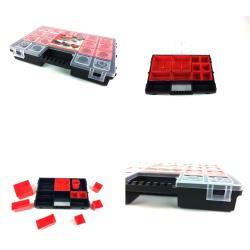 5 x Sortimentskasten Schraubenbox Kleinteilemagazin Organizer C 300,patrol,5901238209638, 4243067016133